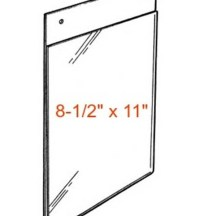 Plastic Wall Mount Sign Holder-Wholesale-Acrylic Document ...