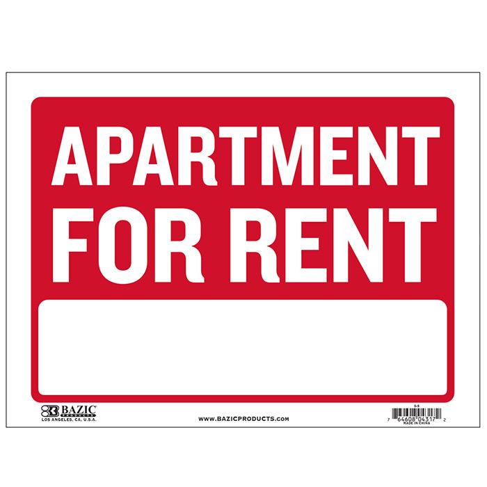 Apartment For Rent SignsCheap Plastic SignsWholesale