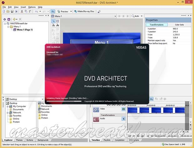 MAGIX VEGAS DVD Architect License Key Full Version