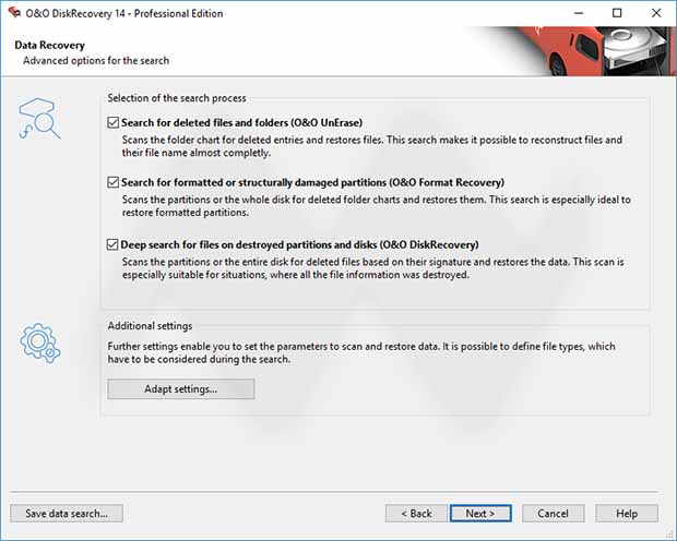O&O DiskRecovery 14 Professional Edition License Key Full Version
