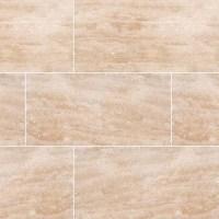 Travertine Honed And Filled Floor Tiles - Tile Design Ideas