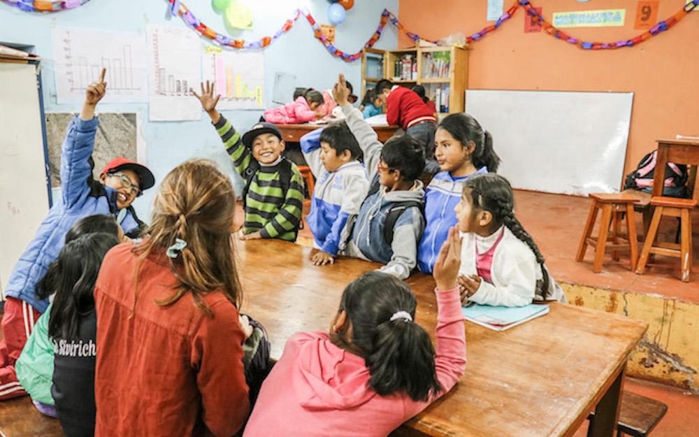 Freiwilligenarbeit Peru mb care