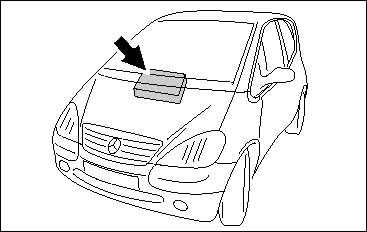 Mercedes w168 batteriewechsel