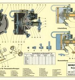 teaching board dbl 205 brake booster ate t50 daimler ag [ 1828 x 1320 Pixel ]
