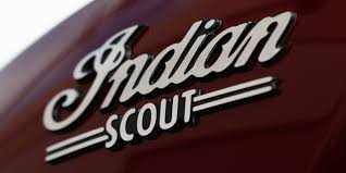 Indian Scout tank badge