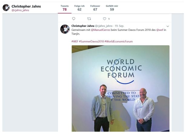 Christopher Jahn Twitter