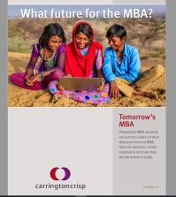 Tomorrow`s MBA
