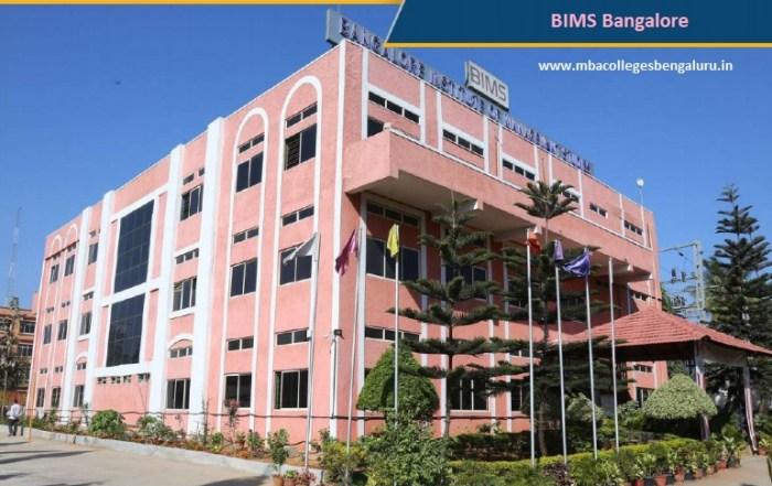BIMS Bangalore Admission 2020