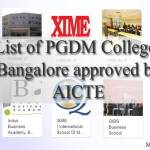 List of PGDM Colleges Bangalore – Eligibility, Admission & Fees 2019