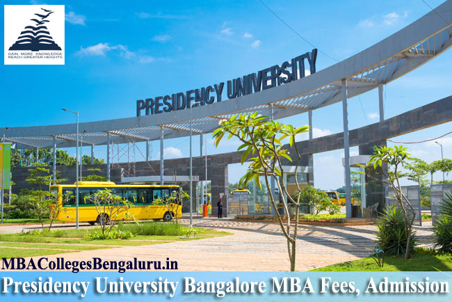 Presidency University Bangalore Admission 2020