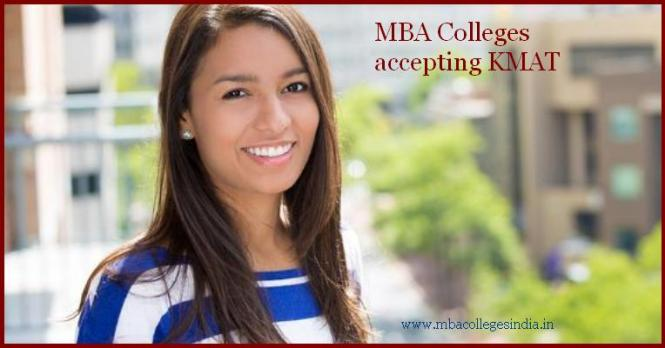 MBA colleges accepting KMAT