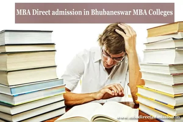MBA Direct Admission in Bhubaneshwar