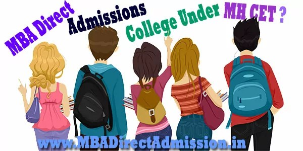 Direct Admission in MBA Colleges Under MHT-CET