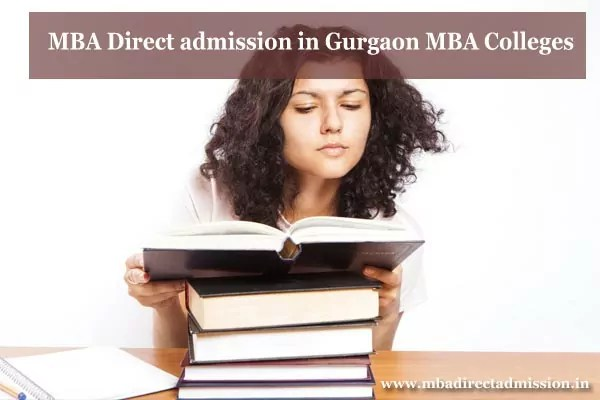 MBA Direct Admission in Gurgaon