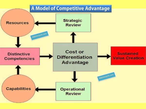 Competitive Advantage Model Resources Capabilities