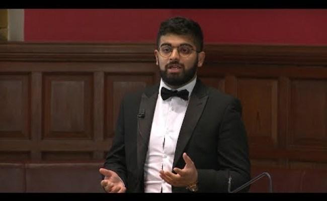 Rabii Malik Oxbridge Debate Proposition 3 8