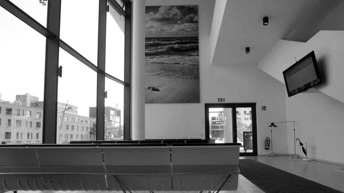 Wandmodul A700 im Foyer