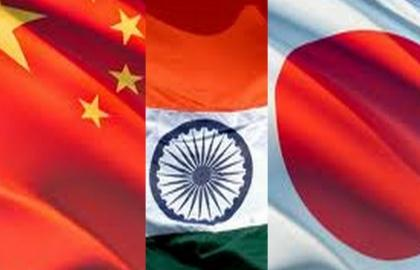 Image result for China, Japan and India