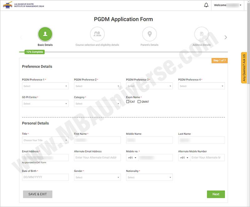 LBSIM Delhi Admission 2019: Eligibility, Criteria, Process