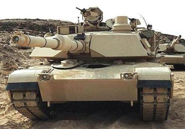صور للدبابة M1A1