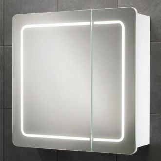 Alabama  Mirrored Bathroom Cabinet with Lights Mirrored