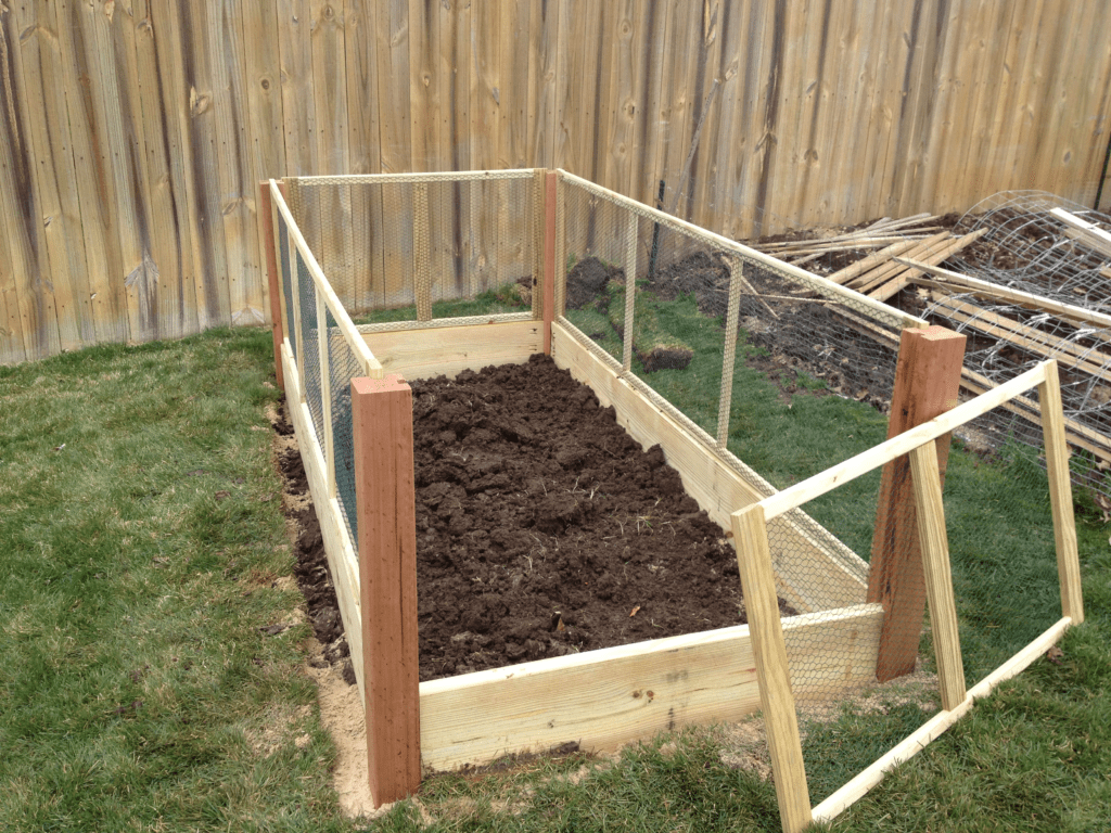 Chicken Wire Fence Panels For Garden Bed
