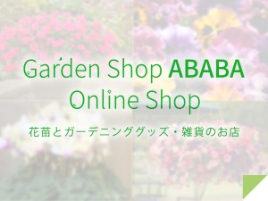 Garden Shop ABABA Online Shop