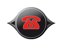 Symbol mit Telefon