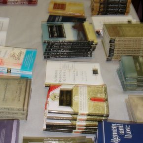 Conference Book Table