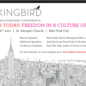 2011 NYC MOCKINGBIRD CONFERENCE: PRE-REGISTRATION NOW OPEN!