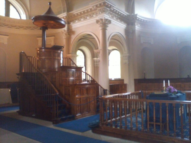 Pulpit and Table