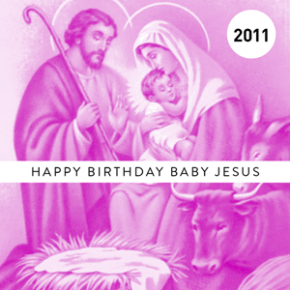 Happy Birthday Baby Jesus: Mbird Edition