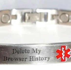 Browser Histories and Manic Mental Ticker Tape