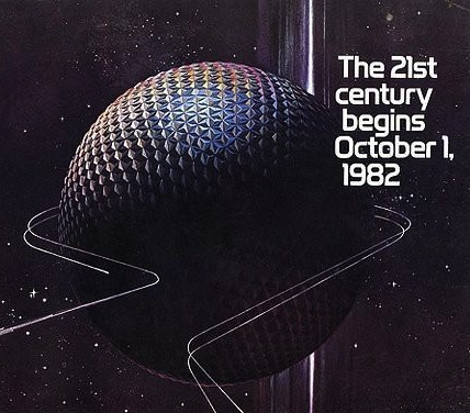 Epcot 21st Century begins 1982