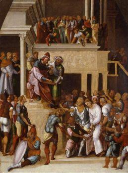 Lodovico-Mazzolino-xx-Christ-before-Pilate