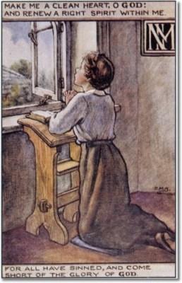 cicely-mary-barker-religious-works-spck-postcard-1916-the-prayer
