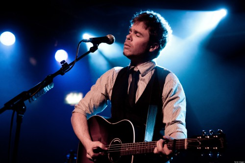 LONDON, UNITED KINGDOM - APRIL 18: Josh Ritter performs on stage at Scala on April 18, 2011 in London, United Kingdom. (Photo by Kate Booker/Redferns)