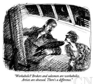 edward-sorel-workaholic-brokers-and-salesmen-are-workaholics-artists-are-obsessed-new-yorker-cartoon