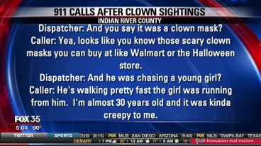 clown-spotting