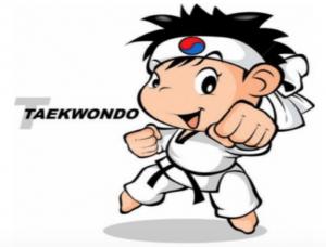 Children's Home Rules Taekwondo Character