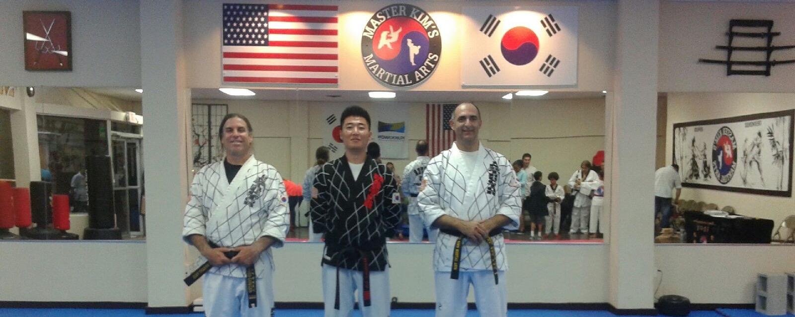 Master Kim and MKMA Instructors