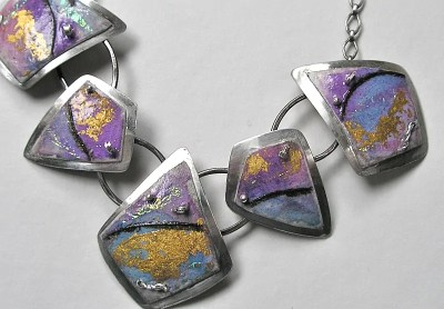 Melissa Offutt - Collage Necklace