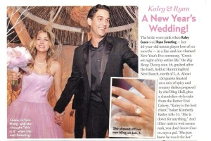 Us Weekly Kaley Cuoco Wedding