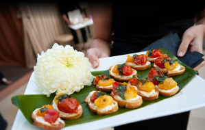 Roasted Pepper Crostini | Catered by Made By Meg