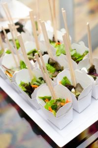 Individual Salad Containers | Catered by Made By Meg