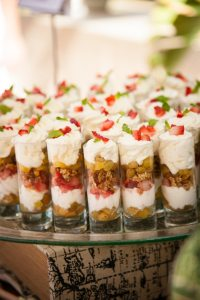mini parfaits | Made By Meg Catering