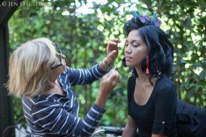 Bride Makeup Prep