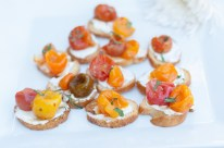 Roasted Tomato Crostinis | Made By Meg Catering