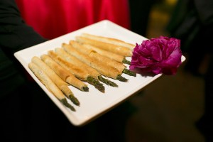 Asparagus wrapped in phyllo | Made By Meg Catering