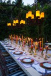 Candlelit Outdoor Dinner Party